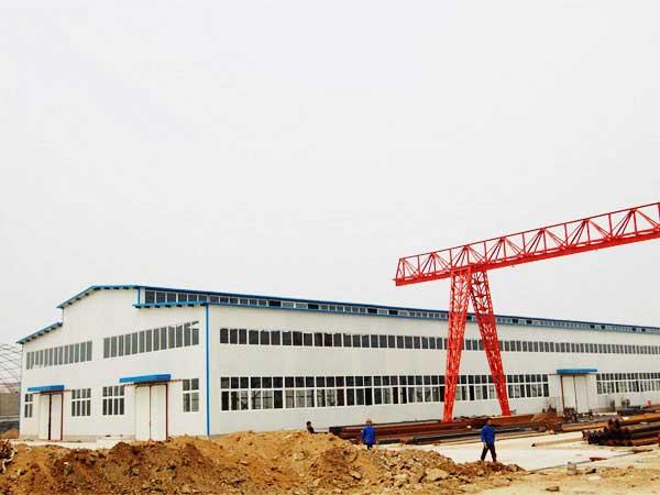 30米跨度双层钢结构厂房